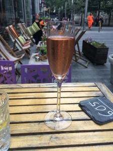 I enjoy a glass of fizz. Regularly!