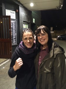 Amanda Kelly was so lovely, even though she'd lost her fight that night.