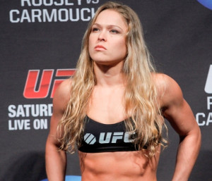 Ronda is my favourite! And she's getting better all the time..