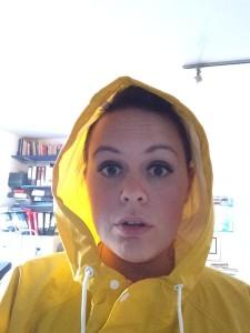 Happy in my waterproof!