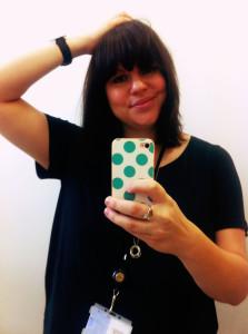 Classy bathroom selfie