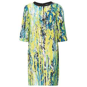 Artwork Print Dress (£89)