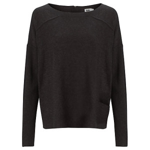 This is just timeless. Reverse Seam Jumper, Charcoal (£49)