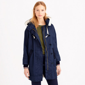J Crew Resin-coated Cotton Twill jacket (£198) jcrew.com/uk
